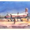 古い航空機