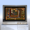 PC98版 英雄伝説III 白き魔女をMS-DOS6.2のハードディスクから起動する。