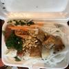 ベトナムの朝食   bún thịt nướng(ブン ティットヌン)