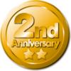 本日5月2日(日):ブログ開設2周年!