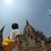 【旅】タイ王国の古都、アユタヤへ!!