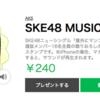 SKE48「意外にマンゴー」選抜メンバーのLINEスタンプが販売開始!
