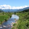 桧沢川マス釣り大会