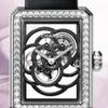 気楽に放した椿はシャネルのPremi_reを使って椿を透かし彫りして腕時計を使って裂けて
