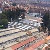 ボリビア・ラパスの大規模な墓地アパート。(ボリビア