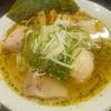 麺屋 蓮 バジル塩 味玉