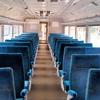 この1枚から 古(いにしえ)の特急列車の座席