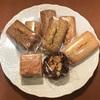 『マモンエフィーユ』のフィナンシェ3種、フロランタンとエンガディナー。何を食べても美味しい焼菓子。