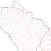 QGISで河川と道路の国土数値情報を重ねあわせる
