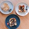 朝ご飯:余ったパンで、選べる3種類のフレンチトースト☆4歳児もこれでご機嫌♪