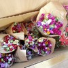 八ヶ岳のお花を売る