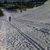 京極でクロカン練習