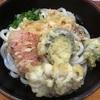 うどん処「ゆたか」で野菜天うどんぶっかけ680円