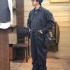 ダッパーズ/Dapper's クラシカルレイルローダーカバーオールで2パターンのオールドスタイルを楽しむ♪