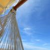 33歳の7月 沖縄旅行記7日目~ハンモック越しの空