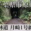 【動画】千葉県市原市 林道 月崎1号線