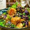 【レシピ】鶏肉と茄子のゴマ味噌炒め