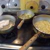 幸運な病のレシピ( 1921 )朝:鮭、手羽先、みそ汁、マユのご飯