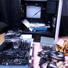 【自作PC】PCケースにパーツをほぼ詰め込み終わる