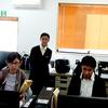錦ヶ丘中学校からおれんじ村に実習生がやってきましたよー