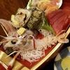西伊豆土肥「磯料理まると」で刺身定食のランチ。