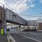 ラッピングX字歩道橋