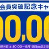 リーベイツ(Rebates)で総額100万ポイント当たるキャンペーン中!さらに3000円以上購入予定であれば、確実に500円分!