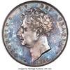 イギリス1826年ジョージ4世プルーフクラウン銀貨NGC PF65