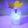 近づくときらきら光る花。ATtiny13と人感センサでLEDを光らせます。