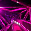 【加賀】山中温泉の名勝「鶴仙渓」に架かる「あやとり橋」は夜間ライトアップされてるよ