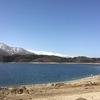 青木湖を散歩