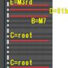 (DAW;基礎)(テスト!)ピアノロールで音程の名称を勉強しよう2~4WCL~不定形ソリ★★