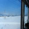 年の明け、湖西線撮影記 ~白き世界の黄昏急行~