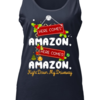 Great Christmas Here comes amazon Right down my driveway shirt