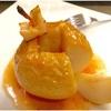 まるごと焼きリンゴ。ホットヨーグルトで食べると美味しいです