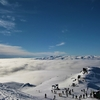 真冬のニュージーランド・カードローナスキー場、雪山画像でプレイバック