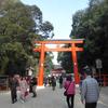 初春の下鴨神社にて。-祭祀遺構と奈良殿神地-
