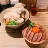 本町製麺所でうどんと鴨丼
