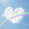東日本大震災から9年の黙とうの後に出た虹の写真をみて感じたこと。