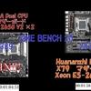 XEON E5-2620 VS E5-2650V2 性能比較【CINEBENCH20】