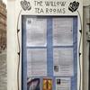 The Willow Tea Rooms アートの中でお茶を
