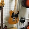 【壁に穴あけ不要】壁掛けギタースタンドを自作してギターを吊り下げてみた。【作り方】