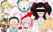 【ドラえもん・まどマギ】のび太とまどかの結婚で生まれる子供を描いてみた結果…【Doraemon/Puella Magi Madoka Magica】