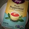 【ノンカフェイン】さりげない爽快感。Yogi「Purely Peppermint」でリフレッシュ【ミントティー】