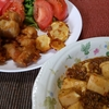 料理男子「唐揚げと麻婆豆腐」