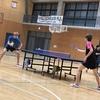大会翌日… 令和元年度三重県卓球選手権
