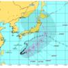 台風10号、進路が気になる。