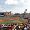 土日の野球観戦 楽天vs横浜@Kスタ