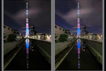 Lightroomで夜景写真をHDR風に現像! これは便利なテクニックだ。