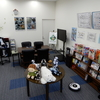 本日は北海道作業療法学会でロボ展示しています。